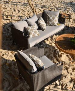 Aloha 2 Seater Sectional Modular Sofa Hospitality