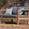 Aloha A 2 Seater Sofa Teak Manufacturer