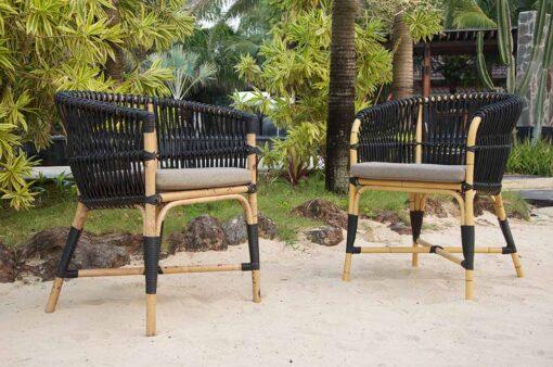 Alba Dining Chair Black Restaurants Contract