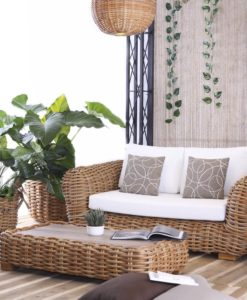 Aloha Ce 2 Seater Sofa Modern Wicker Contract Distributor
