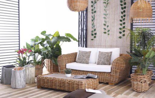 Aloha Ce 2 Seater Sofa Modern Wicker Contract Distributor