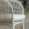 Aloha Dining Chair White Hospitality Custom Furniture