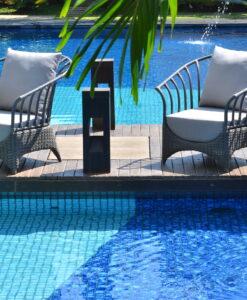Marina Aloha M Club Chairs Sunbrella Hospitality Furniture Resin Highend