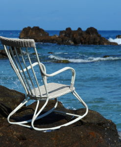 Aly Aloha Rocker Chair Contract Resin Caribbean