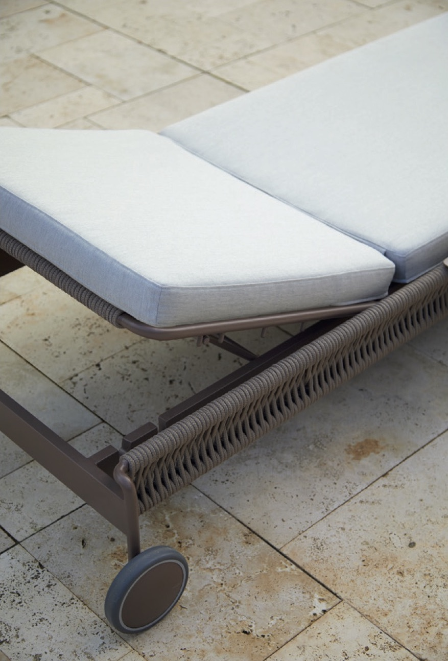 Rope Chaise Lounger Couture Outdoor