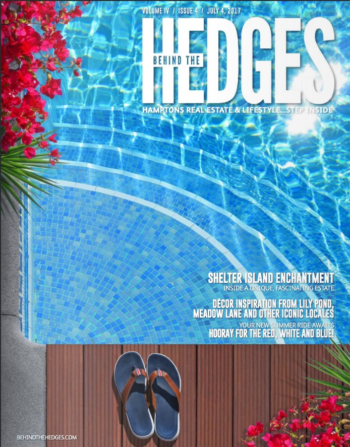 Behind The Hedges Cover July 4th Couture Outdoor Furniture