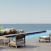 Bermuda contemporary modern outdoor living sectional modular sofa contract hospitality hotel restuarant beach club house miami fl hamptons ny los angeles ca 3