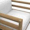 Bermudafied Club Chair Luxury Teak Aluminum