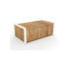 Bermudafied Cushion Box Luxury Outdoor Teak Aluminum Furniture 3