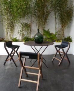 Dvelas 3rd ris counter stool restaurant marine grade plywood furniture indoor outdoor modern furniture