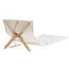 Dvelas Fortuna Sail Cloth Beach Day Luxury Outdoor Luxury Marine Grade Plywood Furniture