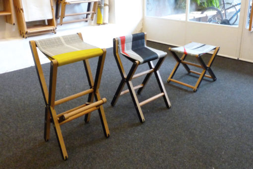 Dvelas abu-dhabi sail 3rd Ris counter stools custom made folding marine plywood furniture teak sail cloth modern outdoor modern furniture Caribbean Resorts