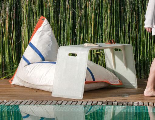 Dvelas coque luxury indoor outdoor coffee table custom made contract residential