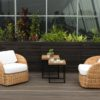 Emilia Club Chair Luxury Modern Wicker Outdoor Furniture