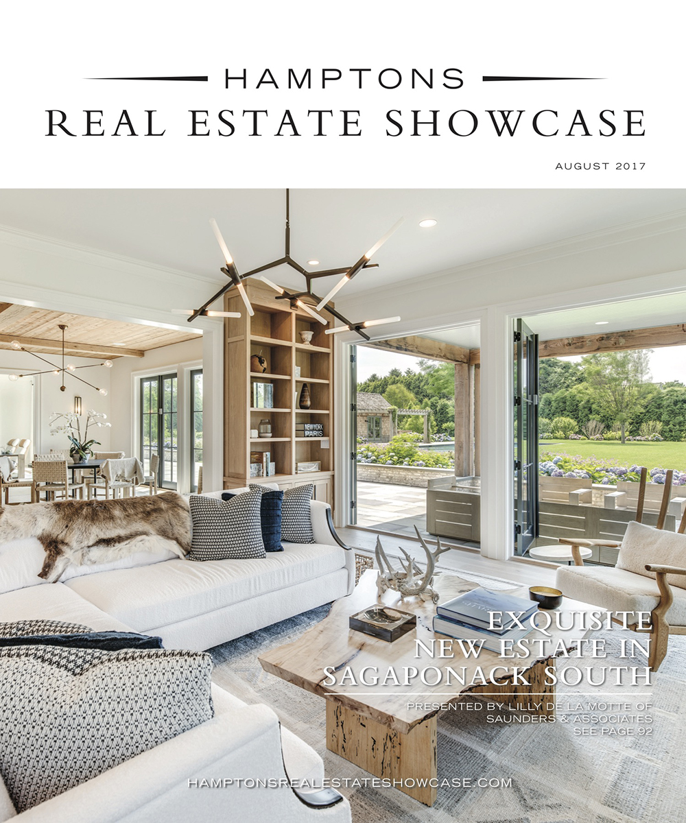 Hamptons Real Estate Show Case HRES August  Cover