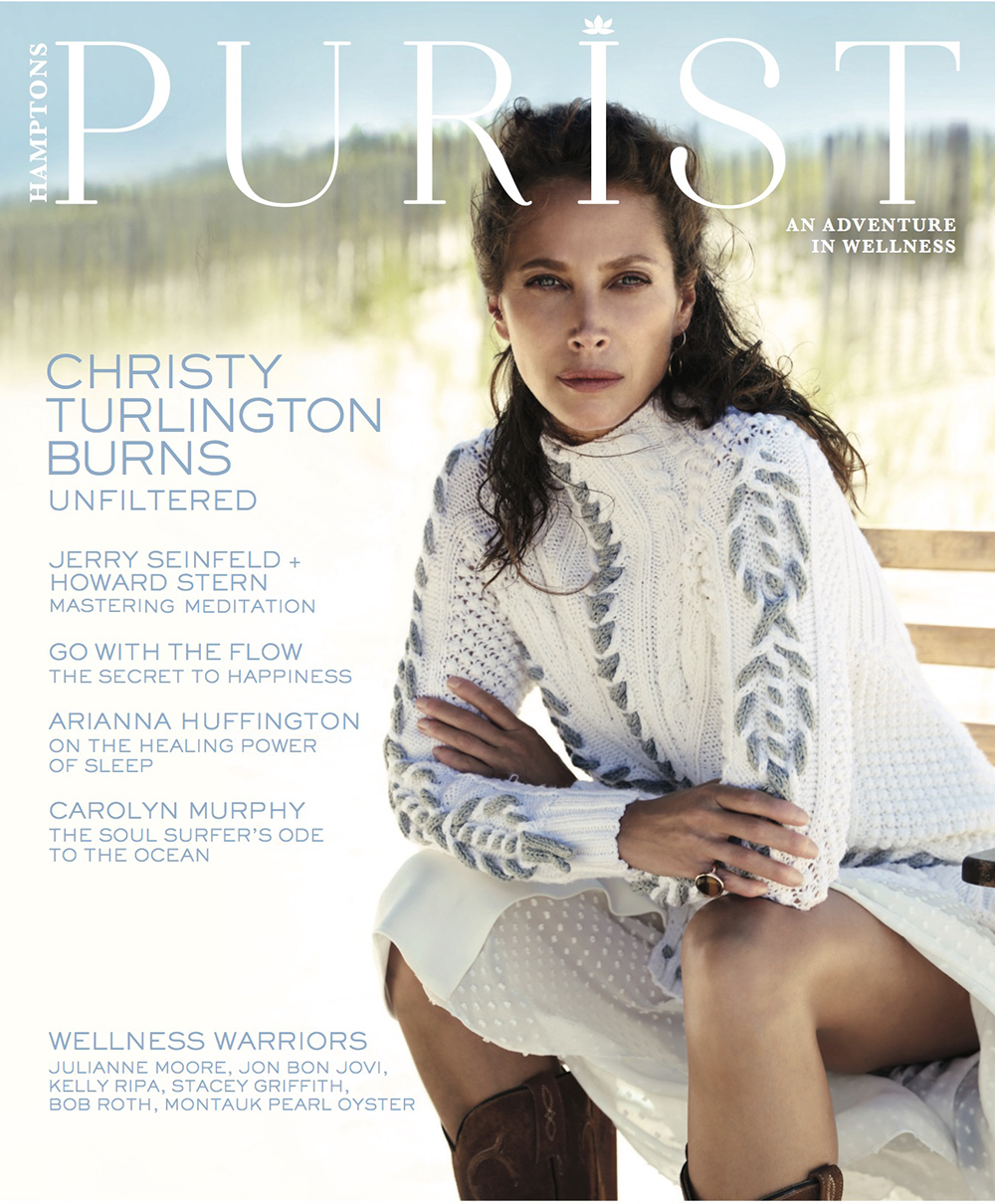 Purist Magazine Cover Couture Outdoor Hamptons NY