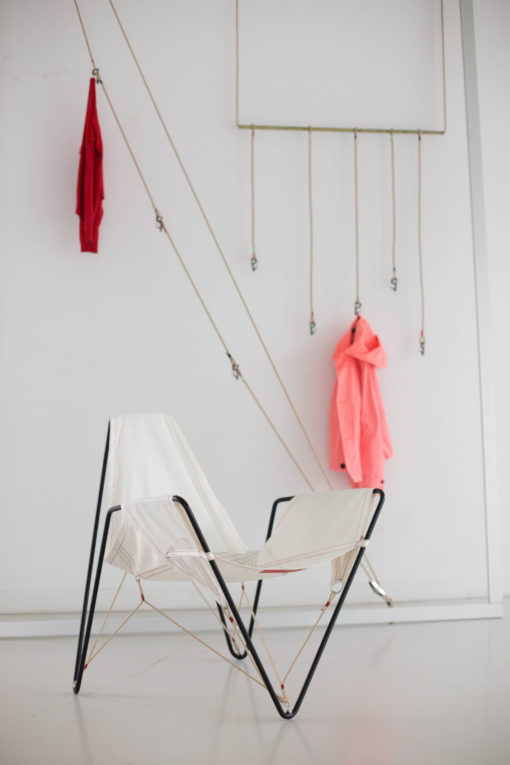 Dvelas Trimmer Club Chair Upcycle Sail