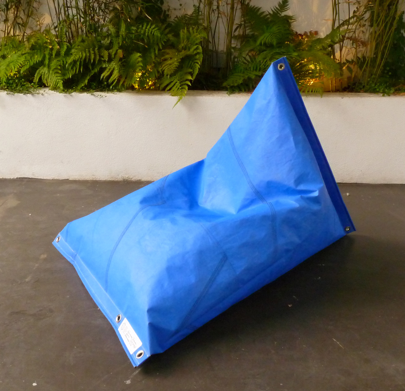 Dvelas Genois Dyed Floating Bean Bag Couture Outdoor