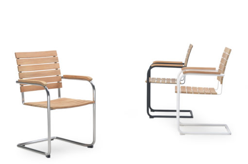 alan Cantilever Dining Chairs Modern Outdoor Furniture
