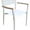 Agatha Stackable Dining Chairs Restaurant Hospitality Patio Furniture 1
