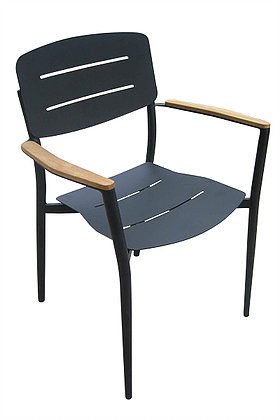 Agatha Stackable Dining Chairs Restaurant Hospitality Patio Furniture