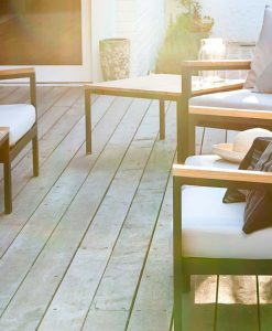 Alar Club Chair Modern Outdoor Luxury Outdoor Teak Aluminum White Black Commercial Hospitality Furniture