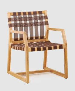 Alma Strap Dining Chair Contract Outdoor Furniture