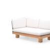 Alura 2 Seater Sofa Corner Element Modern Teak Pool Furniture Contract Outdoor