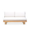 Alura 2 Seater Sofa Middle Element Modern Teak Pool Furniture Contract Outdoor