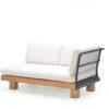 Alura 2 Seater Sofa Modern Teak Pool Furniture Contract