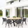 Arliene Dining Chair Restaurant Contract Modern Patio Furniture
