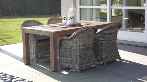 Aspen Dining Chair Luxury Contract Furniture Restaurant Patio Furniture