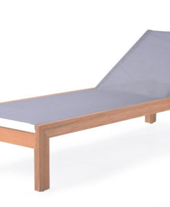 Asure Chaise Lounger Teak Batyline Custom Outdoor Furniture