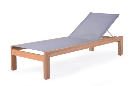 Asure Chaise Lounger Teak Batyline Custom Outdoor Furniture