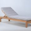 Asure Chaise Lounger Traditional Terrace Pool Furniture Outdoor Lounge 1