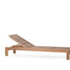 Asure Teak Chaise Lounger Details Traditional Terrace Pool Furniture Outdoor 1