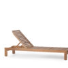 Asure Teak Chaise Lounger Details Traditional Terrace Pool Furniture Outdoor 2