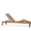 Asure Teak Chaise Lounger Details Traditional Terrace Pool Furniture Outdoor 3