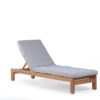 Asure Teak Chaise Lounger Details Traditional Terrace Pool Furniture Outdoor 5