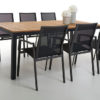 Elena Dining Table Luxury Modern Outdoor Furniture Hospitality Restaurant
