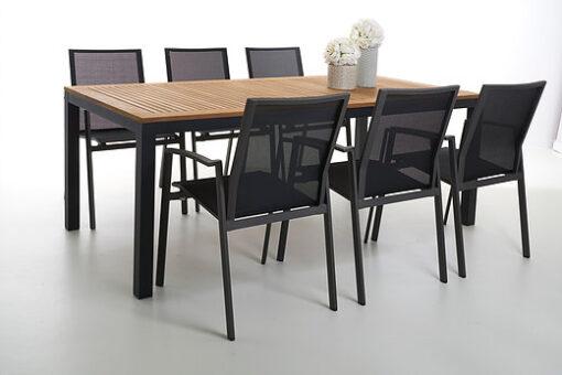 Elena Dining Table Luxury Modern Outdoor Furniture Hospitality Restaurant