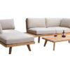Aura Sectional Sofa Teak Modern Pool Furniture Hospitality Terrace