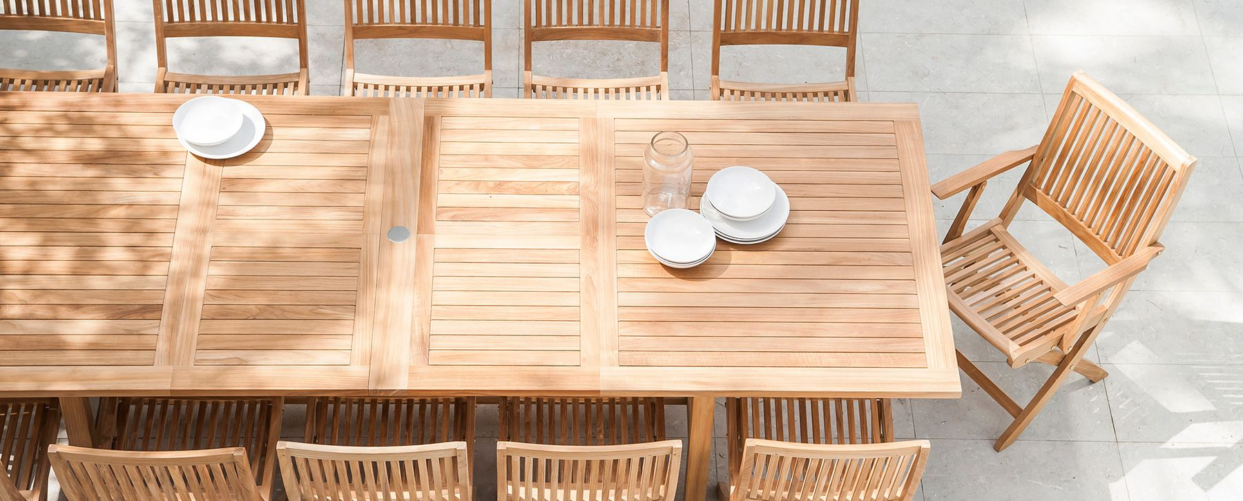 Becker Dining Table Extendable Couture Outdoor