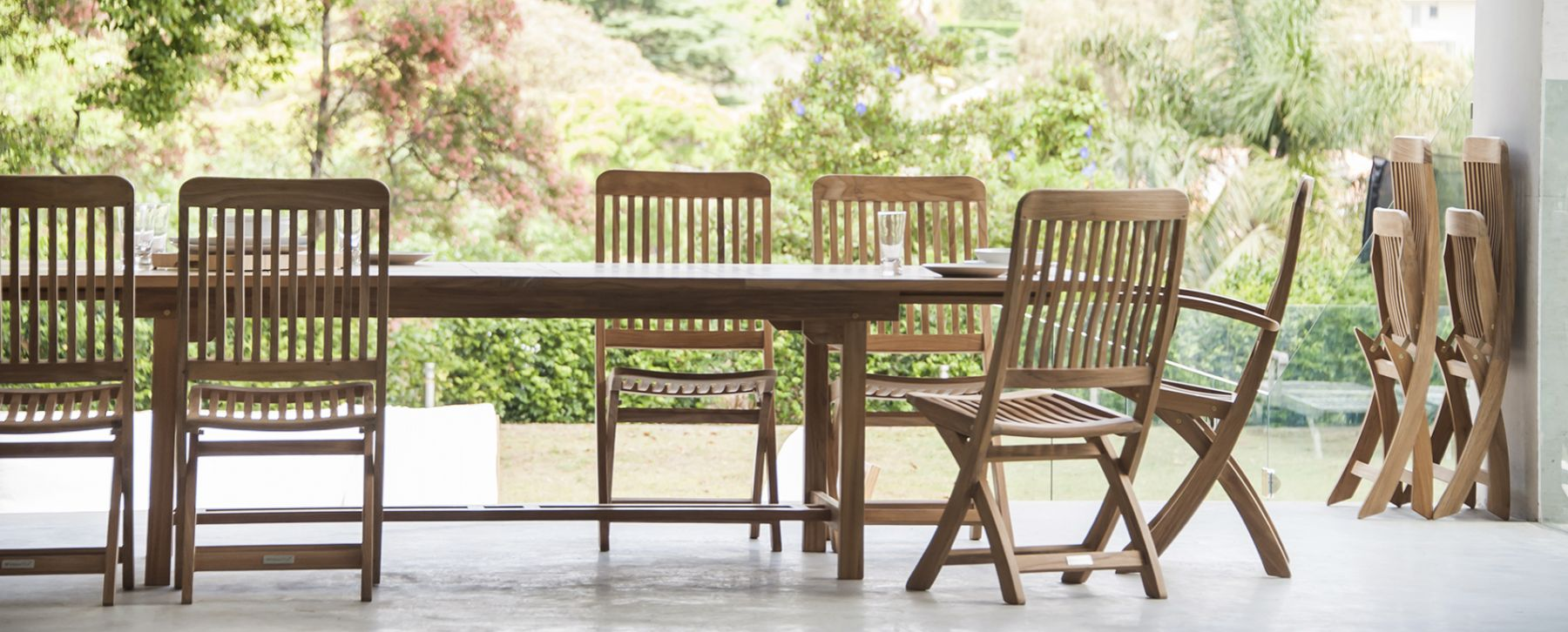 Becker Dining Table Extendable - Couture Outdoor