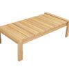 teak rectangular coffee table