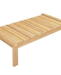 Modern Teak Rectangular Coffee Table