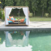 Belize Luxury Hotel Loveseat Daybed Contract Pool Furniture