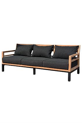Bermuda 3 Seater Sofa Contract Patio Furniture Moder Teak PC