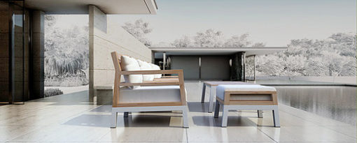 Bermuda Lounge Luxury Outdoor Patio Furniture