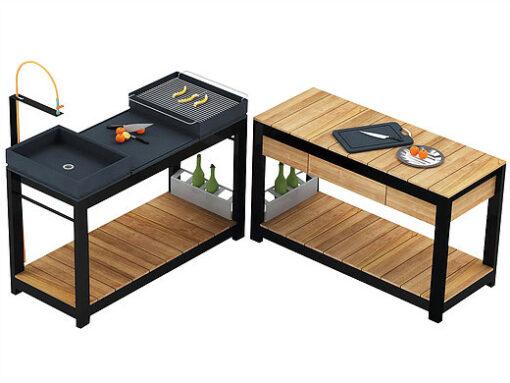 Bermuda Outdoor Kitchen Modern Outdoor Collection